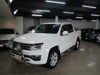 2017 Volkswagen Amarok 2H MY18 TDI550 4MOTION Perm Ultimate White 8 Speed Automatic Utility