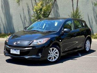 2011 Mazda 3 BL10F2 Maxx Activematic Sport Black 5 Speed Sports Automatic Hatchback.