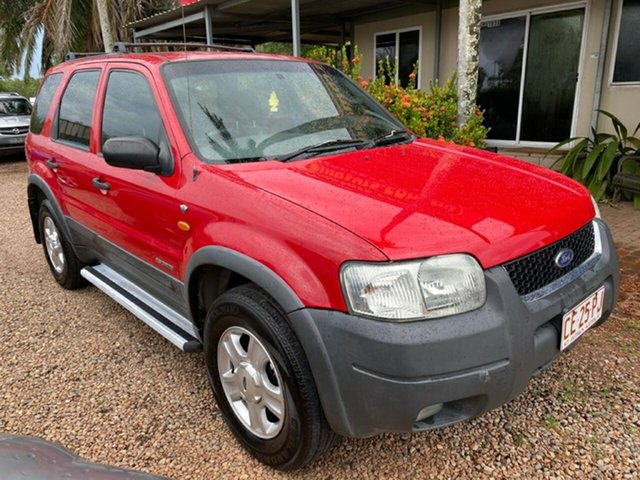 Used Ford Escape BA XLT Pinelands, 2002 Ford Escape BA XLT Red 4 Speed Automatic SUV