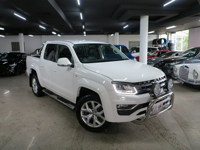 Used Volkswagen Amarok 2H MY18 TDI550 4MOTION Perm Ultimate Albion, 2017 Volkswagen Amarok 2H MY18 TDI550 4MOTION Perm Ultimate White 8 Speed Automatic Utility