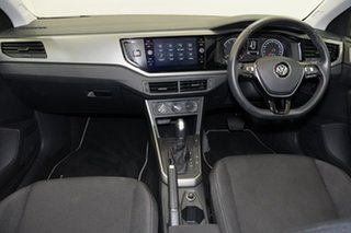 2018 Volkswagen Polo AW MY19 85TSI DSG Comfortline Silver 7 Speed Sports Automatic Dual Clutch