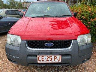 2002 Ford Escape BA XLT Red 4 Speed Automatic SUV.