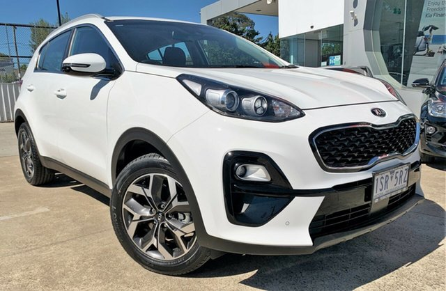 Demo Kia Sportage QL MY21 SX 2WD Ferntree Gully, 2020 Kia Sportage QL MY21 SX 2WD Clear White 6 Speed Sports Automatic Wagon