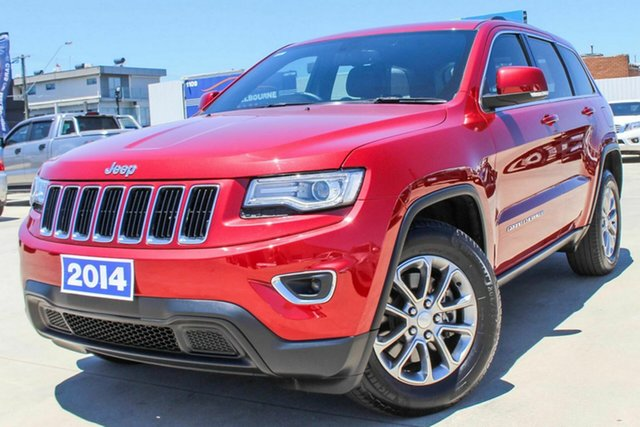 Used Jeep Grand Cherokee WK MY2014 Laredo Coburg North, 2014 Jeep Grand Cherokee WK MY2014 Laredo Red 8 Speed Sports Automatic Wagon