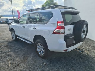2014 Toyota Landcruiser Prado KDJ150R MY14 GX White 5 Speed Sports Automatic Wagon.