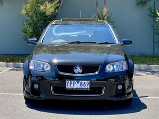 2011 Holden Commodore VE II MY12 SV6 Black 6 Speed Sports Automatic Sedan.