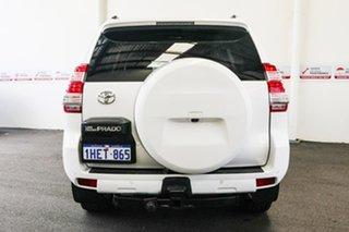 2014 Toyota Landcruiser Prado KDJ150R MY14 GXL Glacier White 5 Speed Sports Automatic Wagon