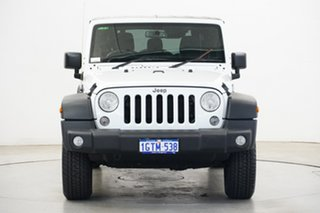 2018 Jeep Wrangler JK MY18 Unlimited Sport White 5 Speed Automatic Softtop.