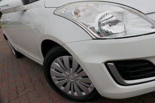2016 Suzuki Swift FZ MY15 GL White 4 Speed Automatic Hatchback.