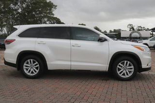 2016 Toyota Kluger GSU55R GX AWD White 6 Speed Sports Automatic SUV