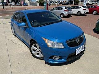 2012 Holden Cruze JH MY13 SRi V Blue 6 Speed Automatic Hatchback.