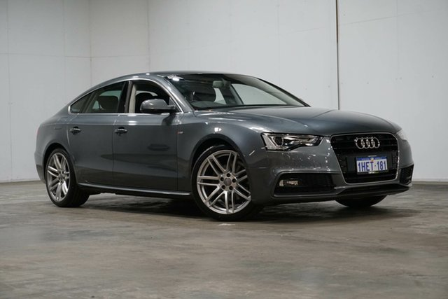 Used Audi A5 8T MY14 Sport Edition Sportback Multitronic Welshpool, 2014 Audi A5 8T MY14 Sport Edition Sportback Multitronic Grey 8 Speed Constant Variable Hatchback
