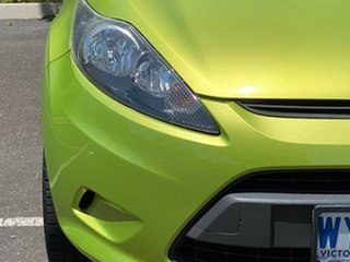 2009 Ford Fiesta WS CL Green 4 Speed Automatic Hatchback