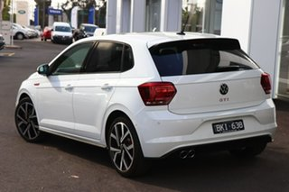 2020 Volkswagen Polo AW MY20 GTI DSG White 6 Speed Sports Automatic Dual Clutch Hatchback.
