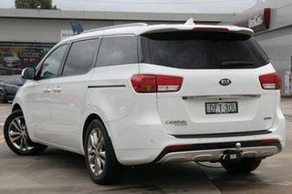 2016 Kia Carnival YP MY16 Platinum White 6 Speed Sports Automatic Wagon.