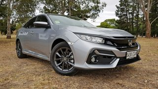 2020 Honda Civic 10th Gen MY20 VTi-S Lunar Silver 1 Speed Automatic Hatchback.