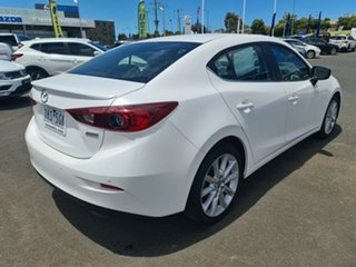 2017 Mazda 3 BN5238 SP25 SKYACTIV-Drive White 6 Speed Sports Automatic Sedan