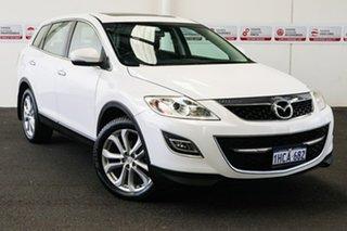 2012 Mazda CX-9 10 Upgrade Luxury (FWD) White 6 Speed Auto Activematic Wagon.