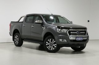 2017 Ford Ranger PX MkII MY17 XLT 3.2 (4x4) Graphite 6 Speed Automatic Dual Cab Utility.