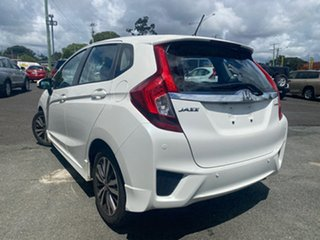 2014 Honda Jazz GF MY15 VTi-L White 1 Speed Constant Variable Hatchback