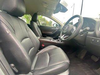 2017 Mazda 3 BN5238 SP25 SKYACTIV-Drive GT Sonic Silver 6 Speed Sports Automatic Sedan