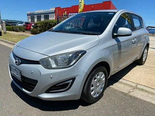 2014 Hyundai i20 PB MY14 Active Silver 4 Speed Automatic Hatchback