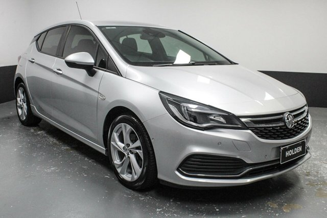 Used Holden Astra BK MY17 RS Hamilton, 2017 Holden Astra BK MY17 RS Silver 6 Speed Sports Automatic Hatchback