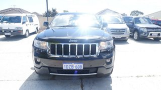 2012 Jeep Grand Cherokee WK MY2012 Limited Black 5 Speed Sports Automatic Wagon.