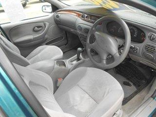 1999 Ford Fairmont AU Magenta 4 Speed Automatic Wagon