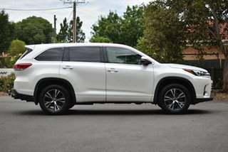 2017 Toyota Kluger GSU50R GX 2WD White 8 Speed Sports Automatic Wagon