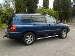2004 Toyota Kluger MCU28R CVX (4x4) Blue 5 Speed Automatic Wagon