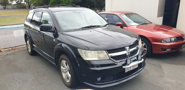 Used Dodge Journey JC MY10 SXT Mount Gravatt, 2011 Dodge Journey JC MY10 SXT Black 6 Speed Automatic Wagon