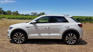 2020 Volkswagen T-ROC A1 MY20 140TSI DSG 4MOTION Sport White Silver 7 Speed