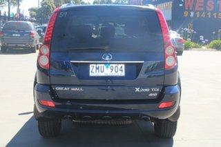 2012 Great Wall X200 CC6461KY MY11 (4x4) Dark Blue 5 Speed Automatic Wagon