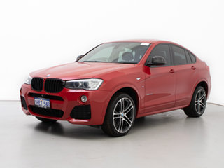 2015 BMW X4 F26 MY15 xDrive 30D Red 8 Speed Automatic Coupe.