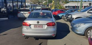 2014 Volkswagen Jetta 1B MY14 118TSI Silver 6 Speed Manual Sedan.