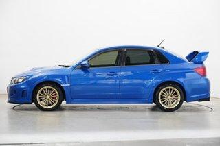 2013 Subaru Impreza G3 MY14 WRX AWD RS40 Blue 5 Speed Manual Sedan.