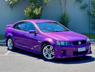 2007 Holden Commodore VE SV6 Purple 5 Speed Sports Automatic Sedan.