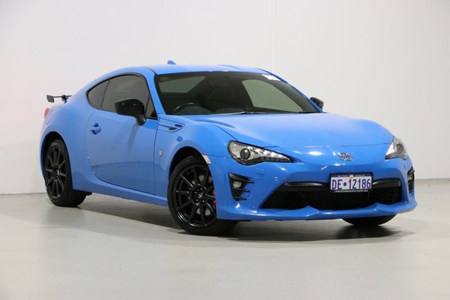 Used Toyota 86 ZN6 MY18 GTS Performance (Apollo Blue) Bentley, 2018 Toyota 86 ZN6 MY18 GTS Performance (Apollo Blue) Apollo Blue 6 Speed Auto Sequential Coupe