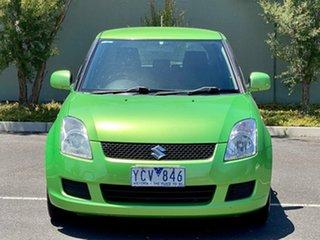 2010 Suzuki Swift RS415 Green 5 Speed Manual Hatchback.