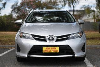 2015 Toyota Corolla ZRE182R Ascent S-CVT Silver 7 Speed Constant Variable Hatchback