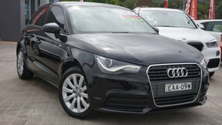 2014 Audi A1 8X MY14 Attraction Sportback S Tronic Black 7 Speed Sports Automatic Dual Clutch.