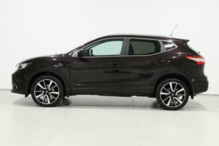 2017 Nissan Qashqai J11 TI Black Continuous Variable Wagon
