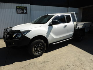 2015 Mazda BT-50 UP0YF1 XT Freestyle 4x2 Hi-Rider Antarctic White 6 Speed Sports Automatic