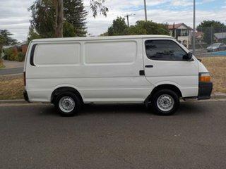 2002 Toyota HiAce RZH103R SWB 5 Speed Manual Van.