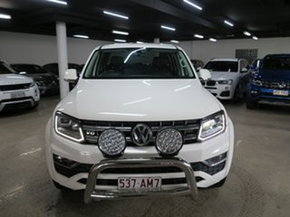 2017 Volkswagen Amarok 2H MY18 TDI550 4MOTION Perm Ultimate White 8 Speed Automatic Utility.