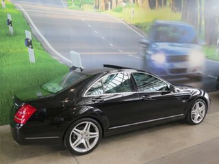 2011 Mercedes-Benz S350 222 MY11 CDI BlueTEC Black 7 Speed Automatic G-Tronic Sedan