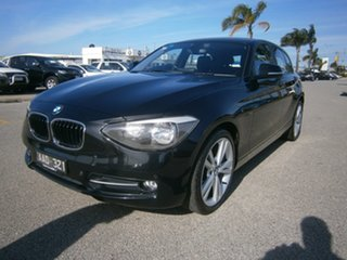 2013 BMW 118d F20 118d Black 8 Speed Sports Automatic Hatchback