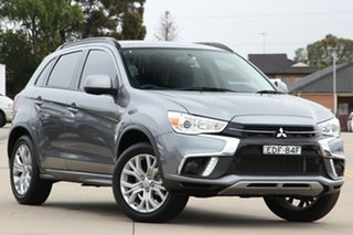 2019 Mitsubishi ASX XC MY19 ES 2WD Grey 1 Speed Constant Variable Wagon.