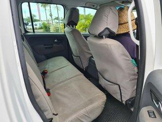 2015 Volkswagen Amarok 2H MY15 TDI420 4Motion Perm Trendline White 8 Speed Automatic Cab Chassis